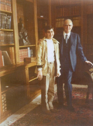 January 1983 with President of Greece Konstantinos Karamanlis
